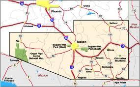 Map Of Southeast Arizona.Tucson Visit Tucson Arizona America Visit Sothern Arizona
